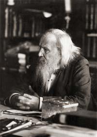 Dmitri Mendeleev năm 1897.