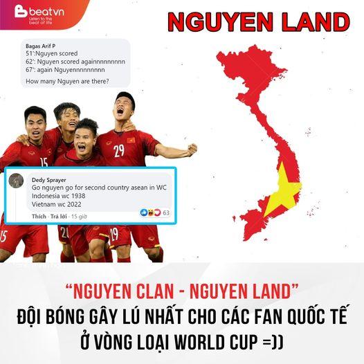 """""""NGUYEN LAND"""" - ĐỘI BÓNG GÂY LÚ NHẤT VÒNG LOẠI WORLD CUP"""