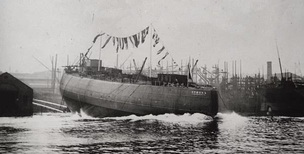 Việc hạ thủy tàu phá băng Yermak vào năm 1898