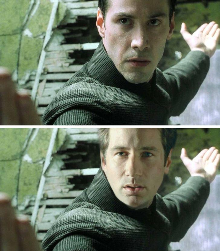 David Duchovny trong vai Neo