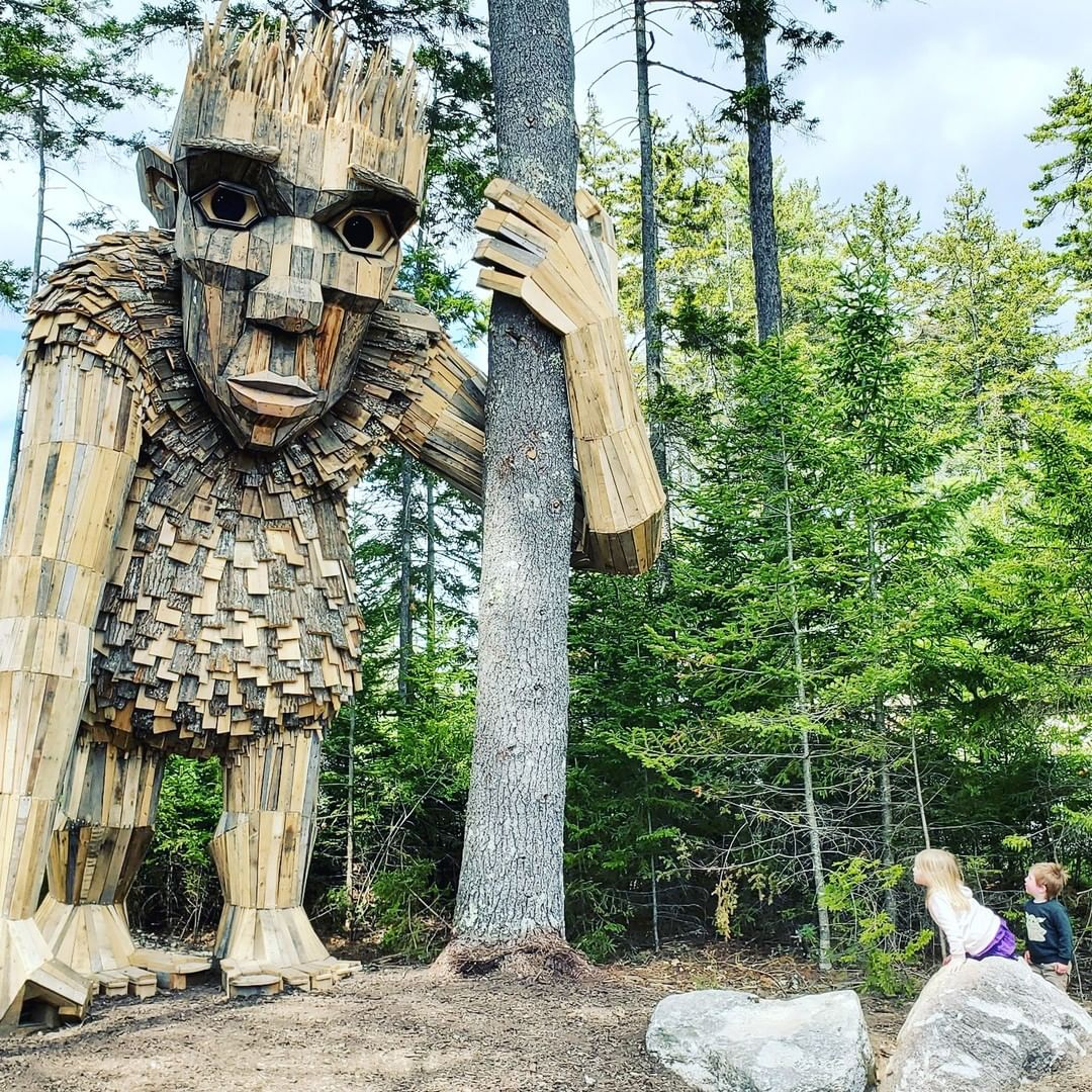 Røskva: một chú quỷ khổng lồ