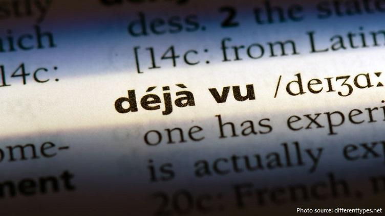 Déjà vu là cảm giác đã trải qua hoàn cảnh hiện tại ở trước đây.