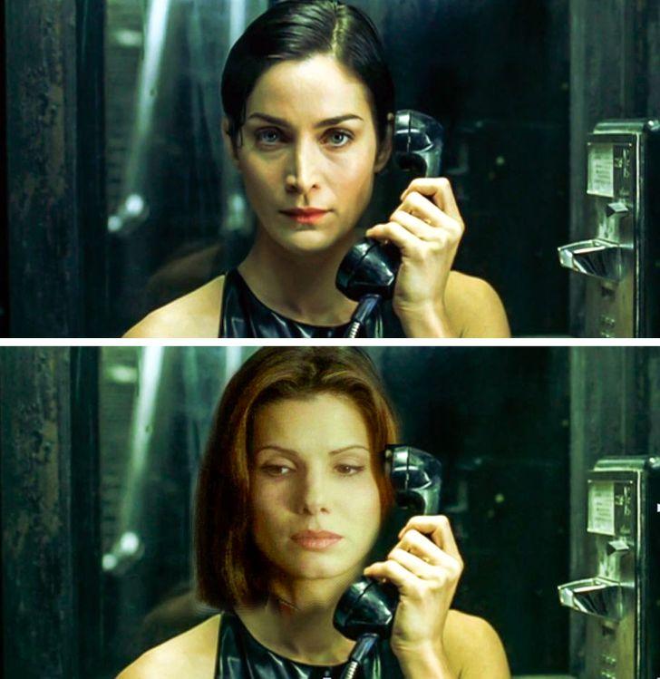 Sandra Bullock trong vai Trinity