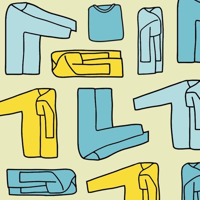 Marie Kondo: Hướng dẫn cơ bản về cách gấp quần áo tiết kiệm không gian