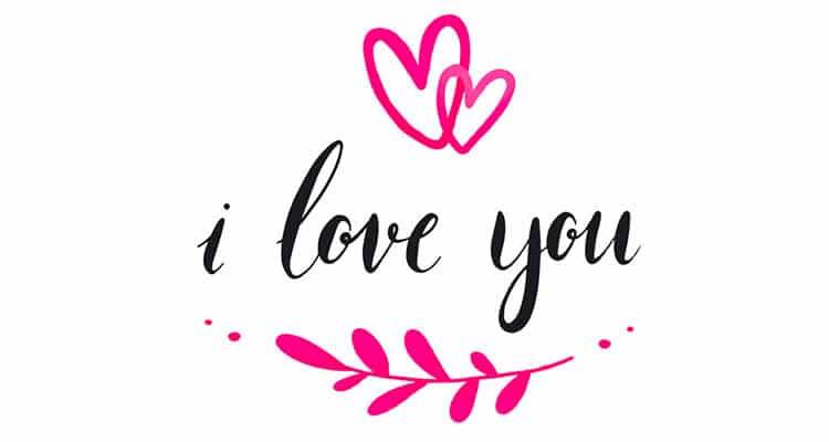 I LOVE YOU - Mật mã 143 - Ảnh: bonobology