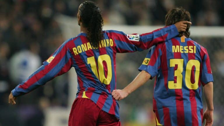 Ronaldinho và Messi