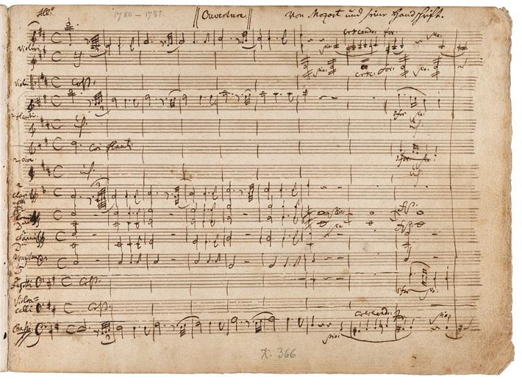 Vở opera Idomeneo của Mozart