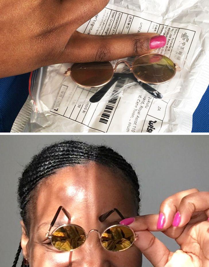 """""""Tôi đã đặt mua những chiếc kính này. Có vẻ như chúng được sản xuất ở Hobbiton """"."""