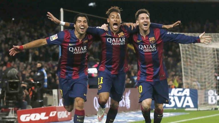 Bộ ba Messi, Suarez và Neymar