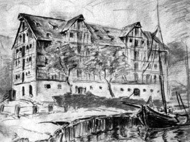 Một bức tranh do Konrad Zuse vẽ