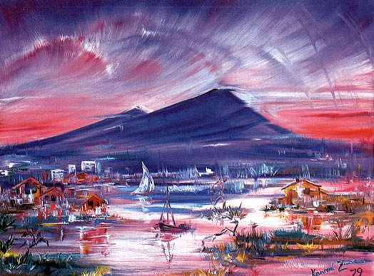 Một bức tranh sơn dầu của Konrad Zuse
