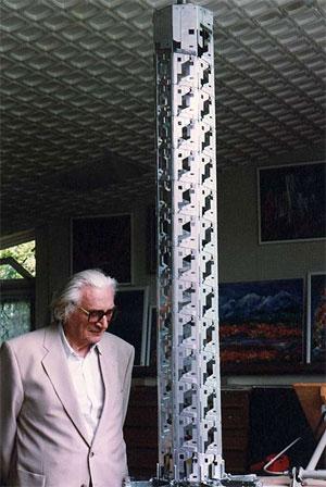 Konrad Zuse với dự án Tháp Helix của mình