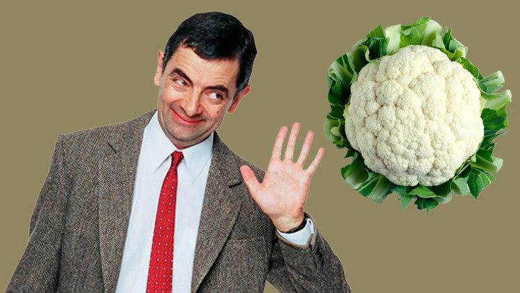 Mr. Bean và Mr. Cauliflower