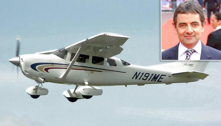Tin máy bay của Rowan Atkinson