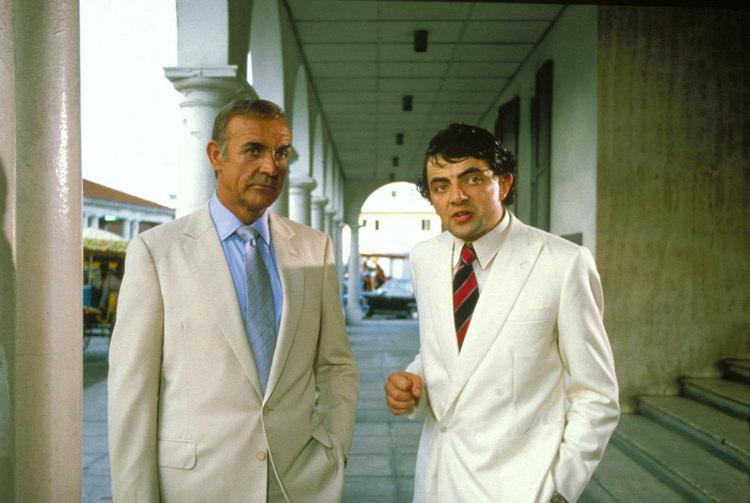 Atkinson cũng đóng một vai phụ trong bộ phim James Bond Never Say Never Again