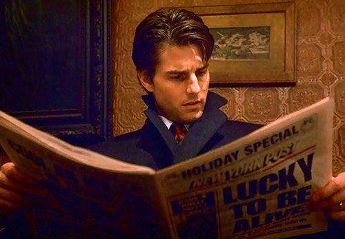 Tom Cruise Đọc