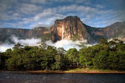 Thác Angel ở Venezuela. Ảnh: Shutterstock