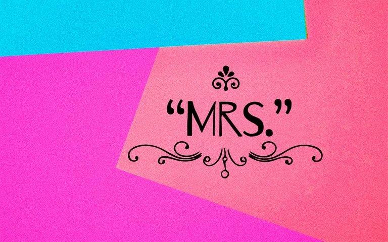 """Đây là lý do tại sao có chữ """"r"""" trong """"Mrs."""""""