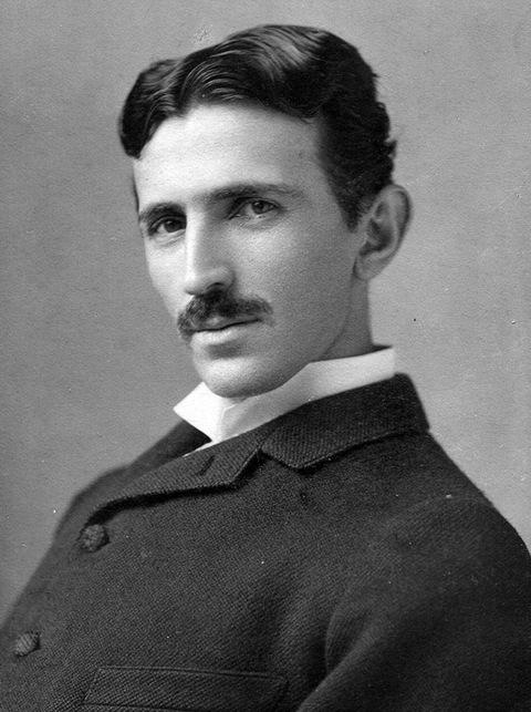 Nikola Tesla. 1880.