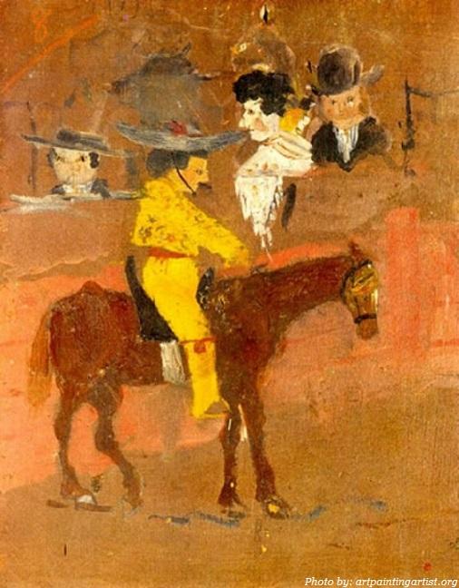 Bức tranh đầu tiên của Picasso