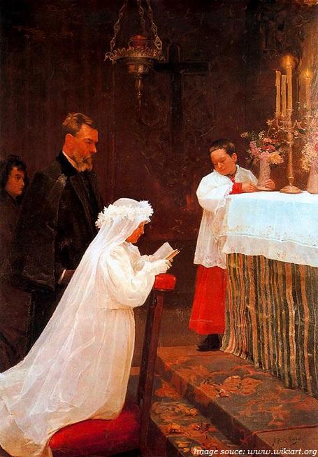picasso lần đầu tiên rước lễ