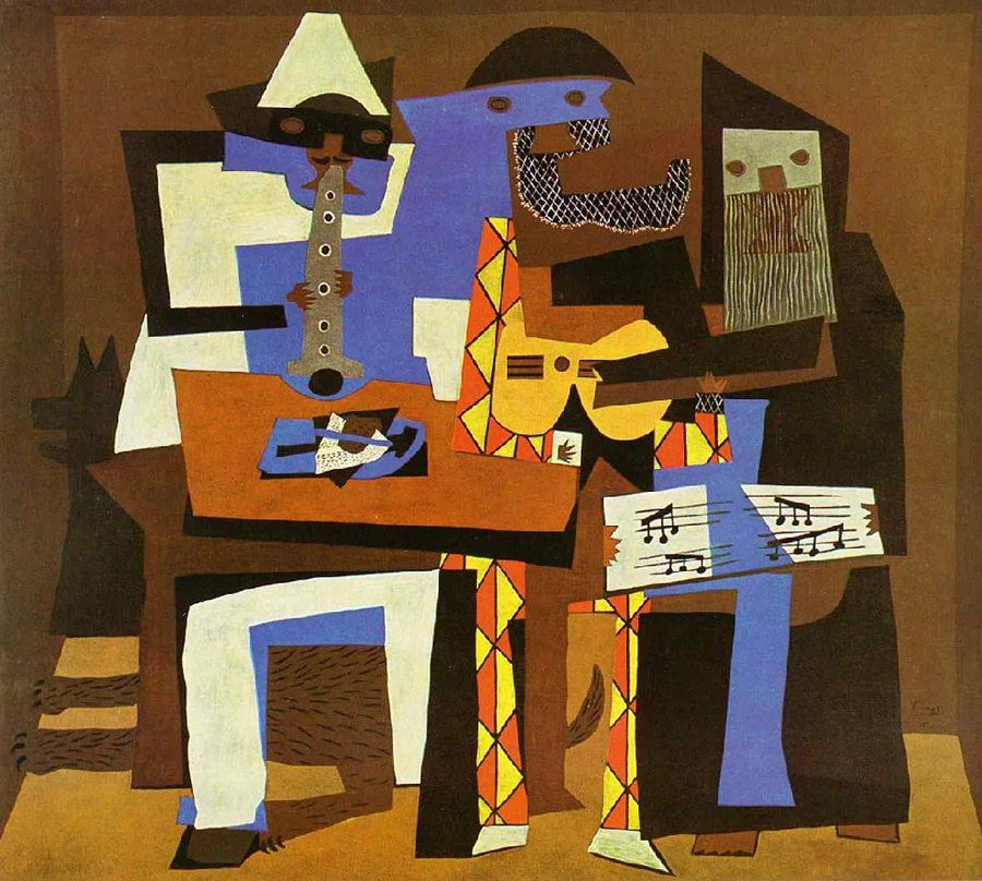 ba nhạc sĩ của Pablo Picasso