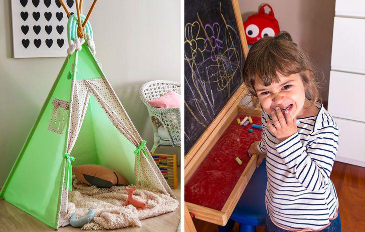 một bảng phấn để trẻ phát triển trí tưởng tượng và óc sáng tạo