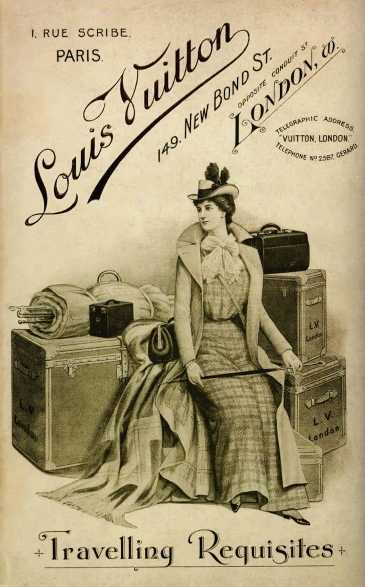 Bìa của danh mục Louis Vuitton năm 1901. APIC / HULTON ARCHIVE / GETTY IMAGES