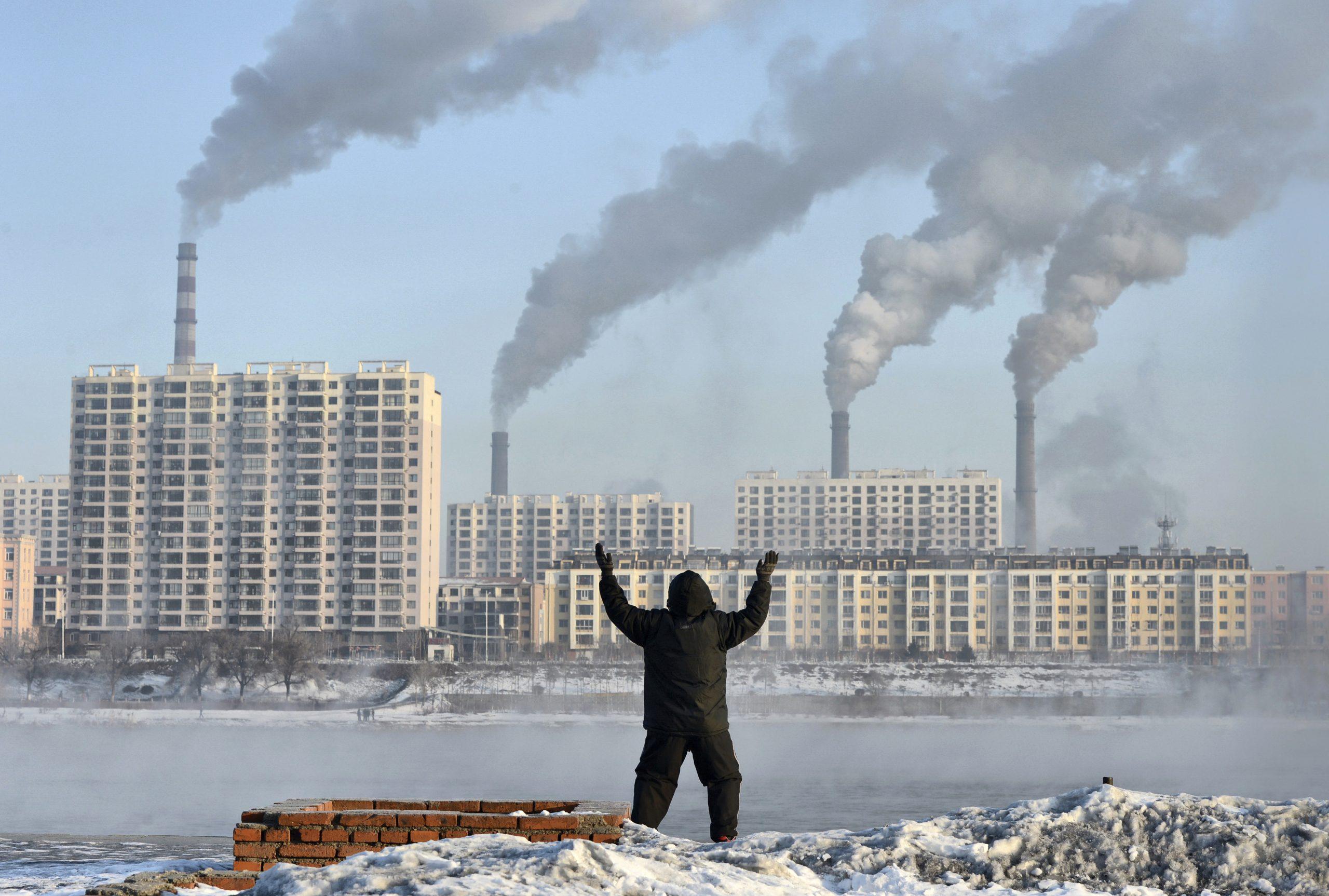 Ô nhiễm không khí là một trong những nguyên nhân gây tử vong hàng đầu trên toàn thế giới. Hình ảnh: REUTERS / Stringer