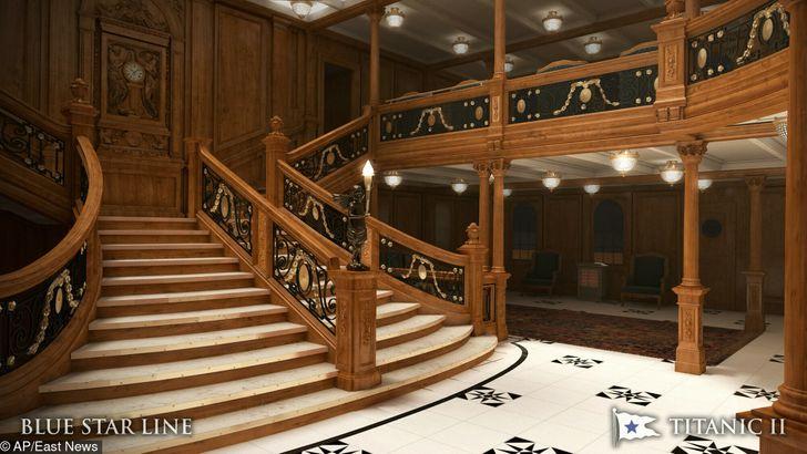 Tàu Titanic mới có cùng cách bố trí cabin và kiến trúc, nội thất và các yếu tố sang trọng giống hệt tàu Titanic ©  AP / East News